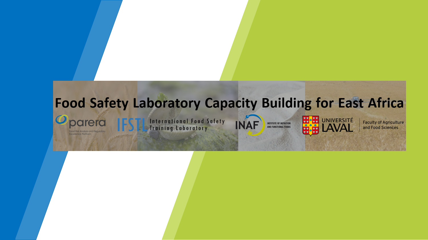 Food Safety Laboratory Capacity Building for East Africa