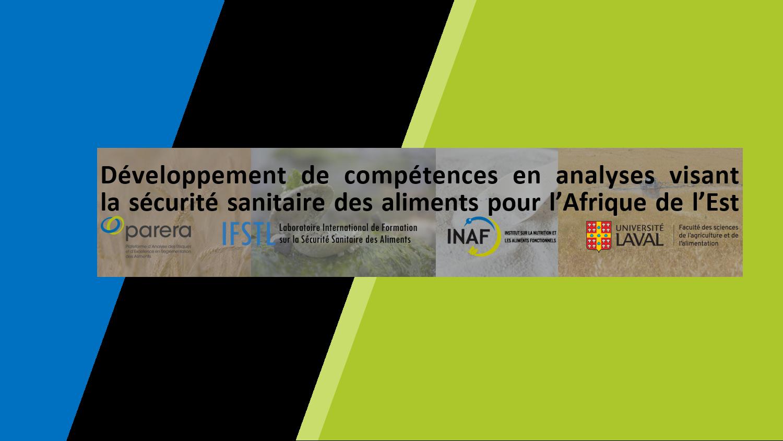 Développement de compétences en analyses visant la sécurité sanitaire des aliments pour l'Afrique de l'Est